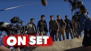 Maze Runner: The Scorch Trials: Behind the Scenes Movie Broll - Dylan O'Brien