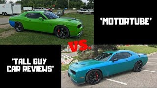 CALLING OUT 'TALL GUY CAR REVIEWS' TO A RACE! *HELLCAT VS HELLCAT*