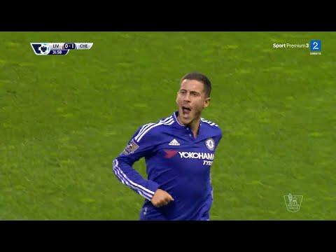 Eden Hazard Amazing Solo Goal vs Liverpool (Away) (11/05/2016)
