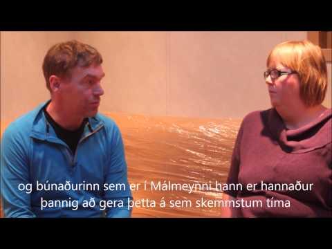 Endurbætur um borð í Málmey SK-1