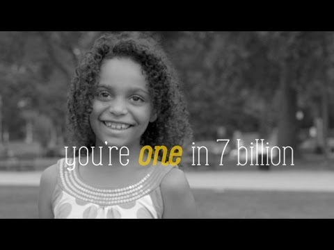 """""""ONE IN 7 BILLION"""" by The Radiance Foundation"""