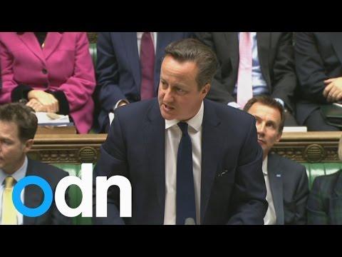 David Cameron condemns Paris terror attack