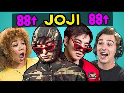 College Kids React To Joji (Music Videos, Rich Brian, 88rising)