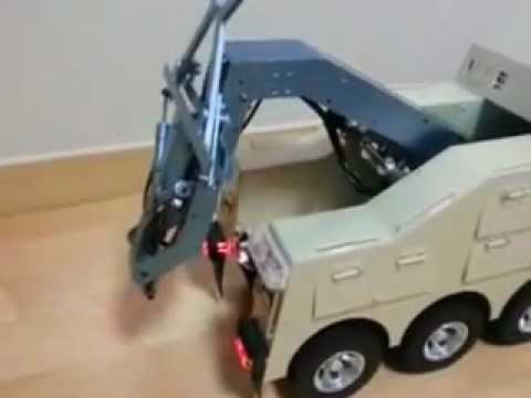 MAN RC Hydraulic Lexington car truck 1/14 - YouTube