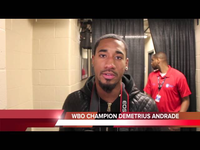 DEMETRIUS ANDRADE: LARA WAS OK I WILL WHOOP HIM