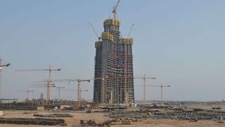 Kingdom / Jeddah Tower - World's Tallest Building! 1 km+ Tower - برج جدة