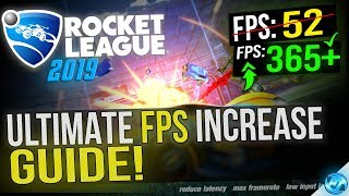 🔧 Rocket League: Dramatically increase performance / FPS with any setup! 2019