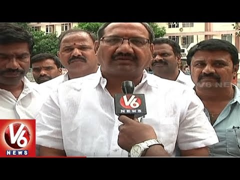 Telangana Govt Employee Unions Demands 20% HRA, To Meet PRC Committee | V6 News