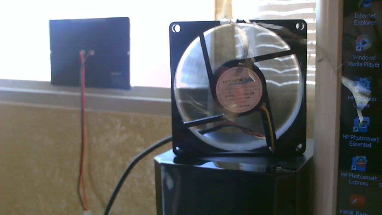 How To Make A Solar Powered Desk Fan Simple Diy Project