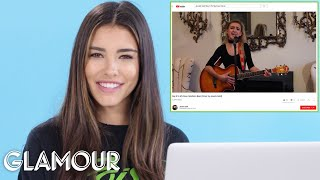 Download Lagu Madison Beer Watches Fan Covers On YouTube | You Sang My Song | Glamour Gratis STAFABAND
