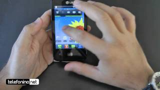 Lg Optimus HUB videopreview da Telefonino.net