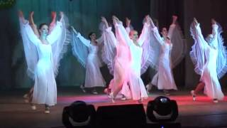 Белая ластаўка. White swallow - pop byelorussian dance. Show-ballet GLORIA.Minsk