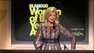 Speech by Arianna Huffington introducing Natalia Vodianova at Glamour Woman of the Year Awards 2014