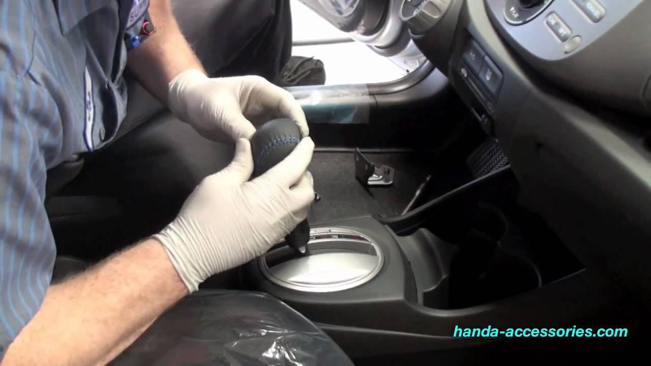 Honda Fit A T Shift Knob Installation Honda Answers 52