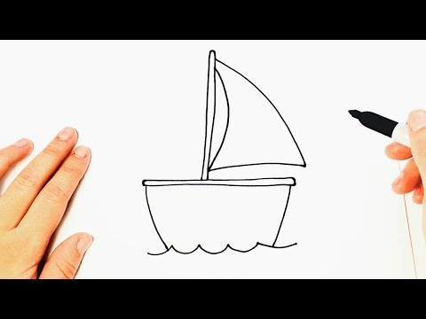 How to draw a Boat Very Easy and Step by Step