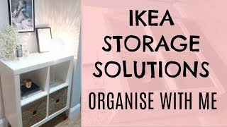 IKEA STORAGE SOLUTIONS | ORGANISE WITH ME | KERRY WHELPDALE