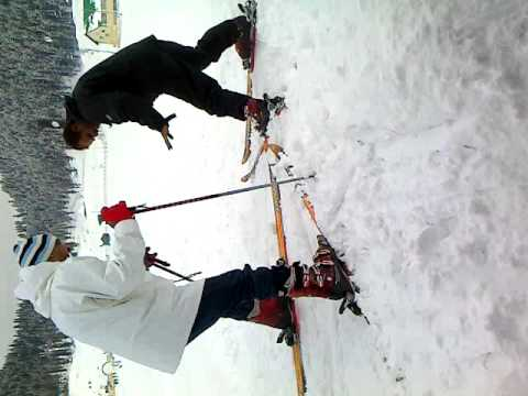 skiing in Gulmarg- 2011