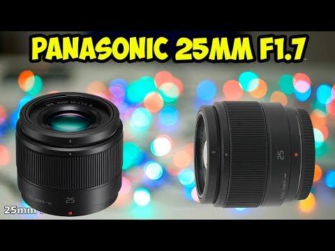 Обзор и тест обьектива Panasonic 25mm 1.7  Доступный полтиник для Micro Four Thirds