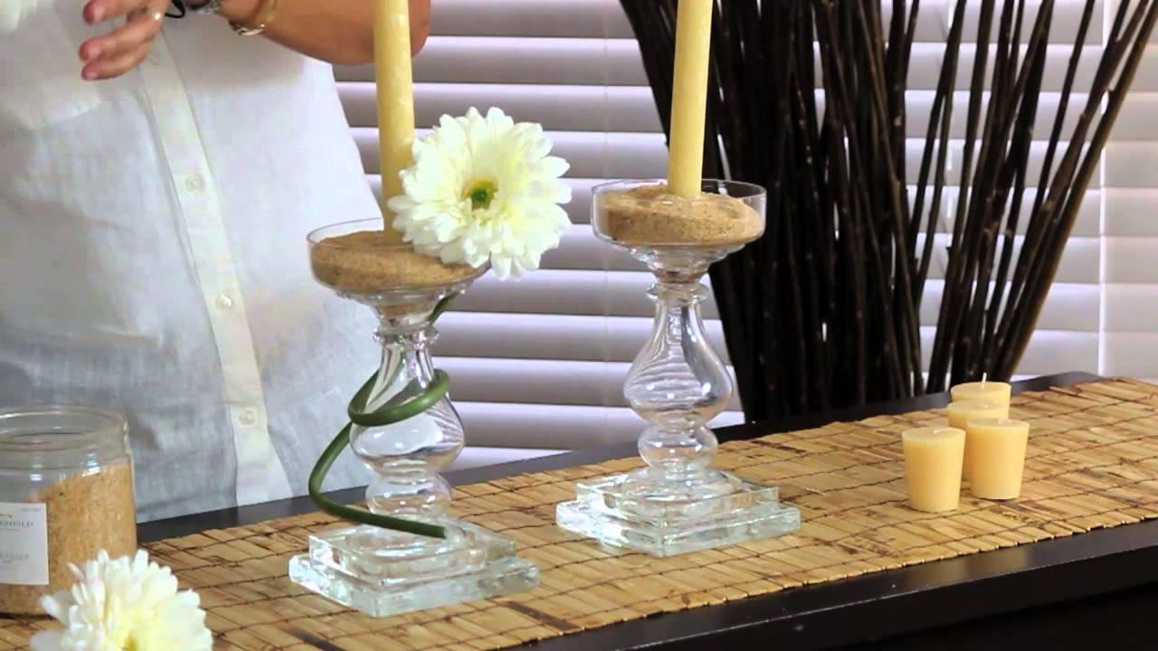 how to make a candelabra