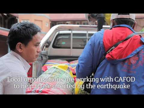 CAFOD: Nepal Earthquake Appeal For Schools