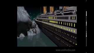 Titanic'in Batış Anının Animasyon Canlandırılması (Yeni ve Gelişmiş Tasarımla)
