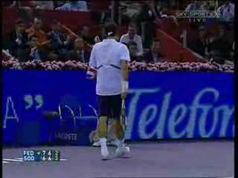 Only Roger Federer can do