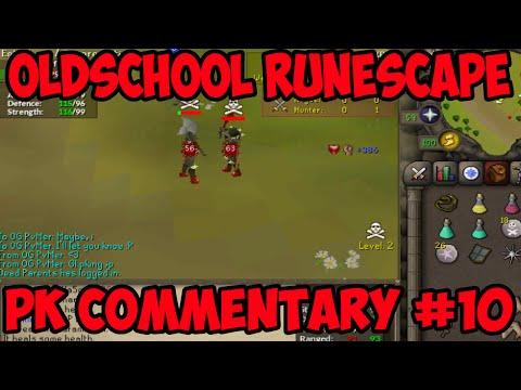Oldschool Runescape - Full DH Bounty Hunter Pking! | PK Commentary #10