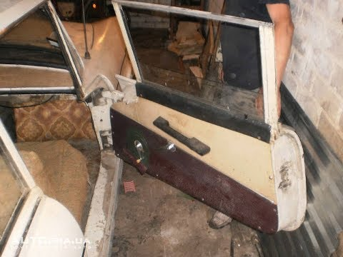 """В гараже нашли очень редкий автомобиль """"Искра"""" с кузовом из стеклопластика"""