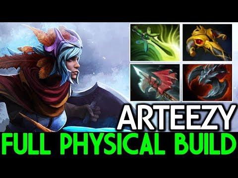 Arteezy [Luna] Full Physical Build 7.15 Dota 2