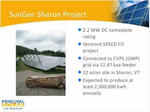 PSI Webinar - BUILDING THE LARGEST SOLAR SMART ARRAY IN NORTH AMERICA