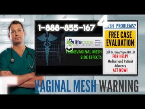 The Facts About Mesh Implant Complications | Pain With Sexual Intercourse video