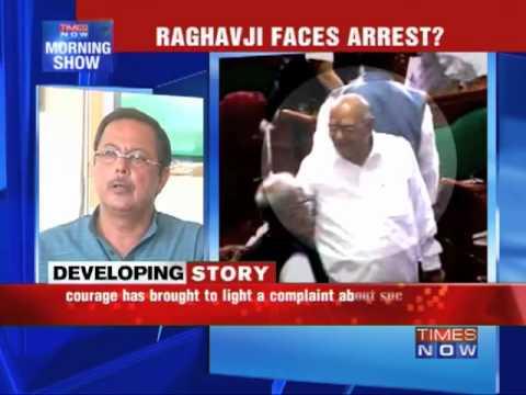 Sex scandal: Fmr Min Raghavji booked