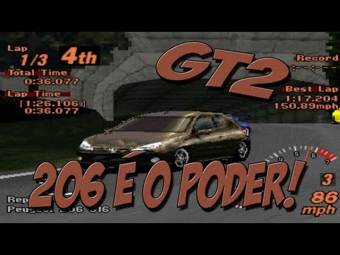 Gt2: Peugeot 206 É O Poder