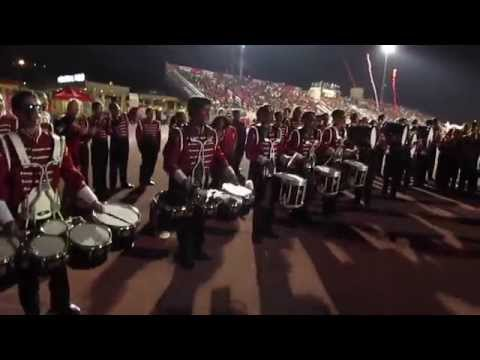 Burroughs vs Burbank Drum Line Face-Off 2014