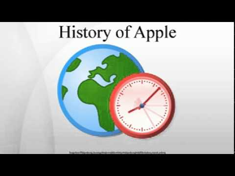 History of Apple Inc.