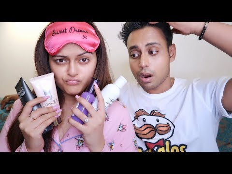 Our Daily Night Time Skin Care Routine   Get Ready For Bed Time With Us