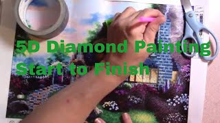 5D Diamond Painting--Start to Finish