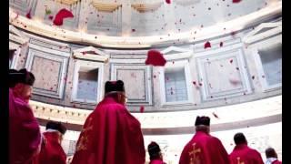 Pantheon: the Pentecost rose petals shower