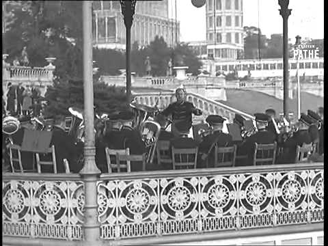 The Crystal Palace (1851-1936), rare footage 1935.