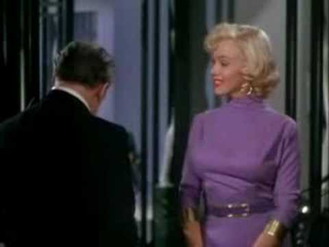 Gentlemen Prefer Blondes scene with Marilyn Monroe Video