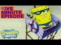 SpongeBob SquarePants: SpongeGuard On Duty 🏖️ In 5 Minutes | #TBT