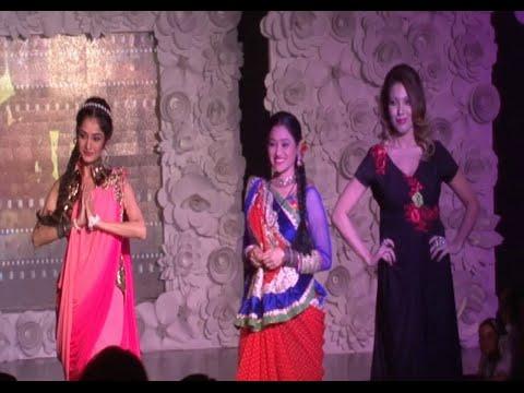 Munmun Dutta, Disha Vakani And Neha Mehta Ramp Walk At Be With Beti Fashion Show 2015. video