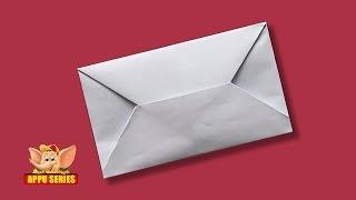 Origami - Make a Fern Letter Fold
