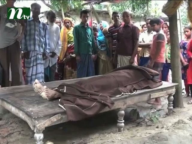 husband wife electrocuted to death in Naogaon