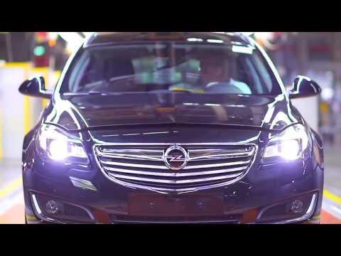 Так собирают Ваш Opel Insignia. Assembling Your car Opel Insignia
