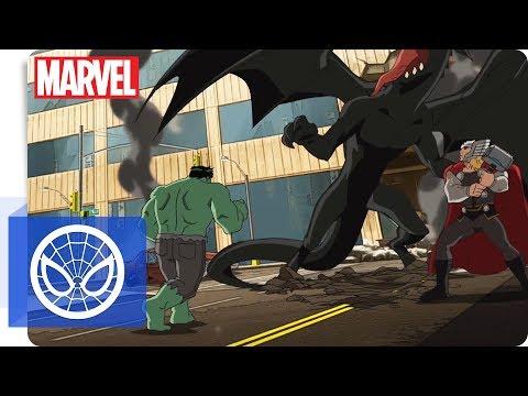 Der ultimative Spider-Man - Schwarzes Eis   NEU auf Marvel HQ Deutschland