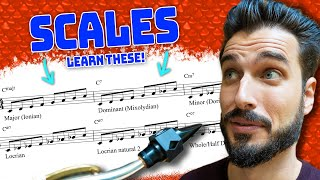 The Only Scales You Need to Know For Jazz Improvisation