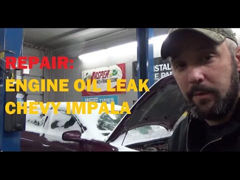 Engine Oil Leak - Chevy Impala 3.4