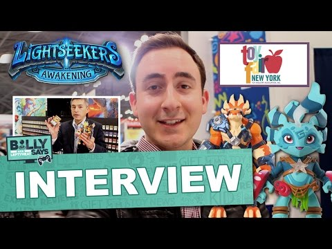 Billy Says Lightseekers Awakening Interview - The Toy Insider at Toy Fair NYC 2017
