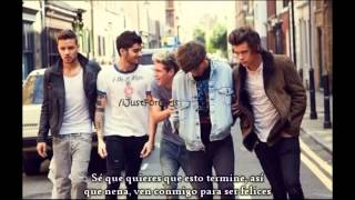 One Direction Video - Happily - One Direction (Versión acústica) (Subtitulado al español)